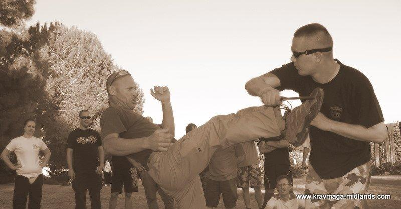 Training in Jerusalem with Amnon Darsa 2010