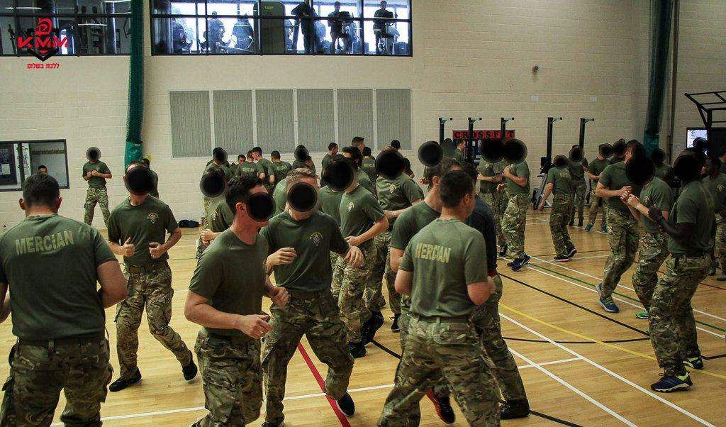 Krav Maga for British Army - Workshops for 1st Mercian Regiment